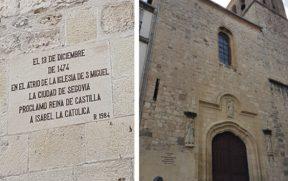 Igreja de San Miguel em Segóvia