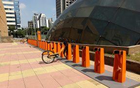 Estação de Bicicleta do Itaú
