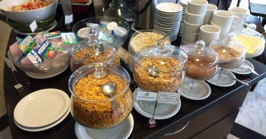 Cereais no Comfort Ibirapuera