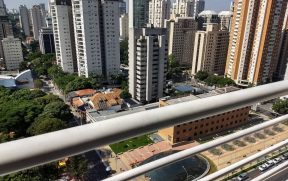 Vista da Varanda no Comfort Ibirapuera