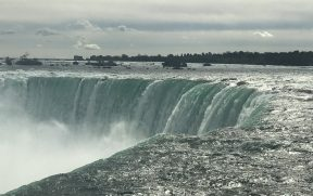 Horseshoe Falls visto de cima