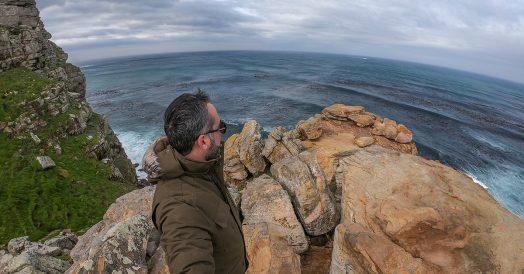 Trilha no Cabo da Boa Esperança