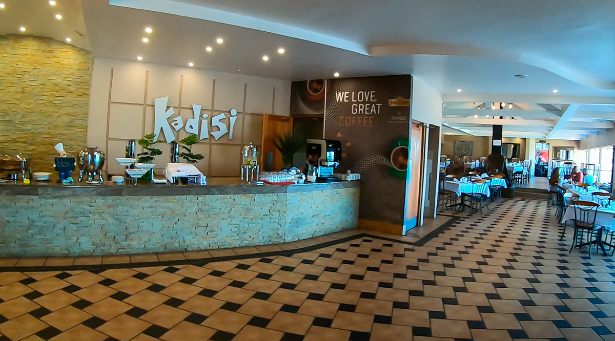 Kadisi: único restaurante da Rota Panorâmica