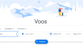 Busca Inicial do Google Flights