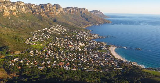 Camps Bay em Cape Town
