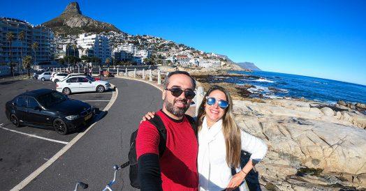 Bairro de Sea Point em Cape Town