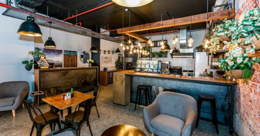 Restaurante do InnsCape on Castle