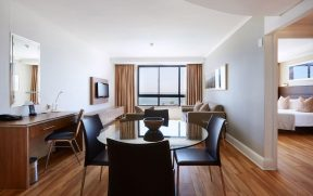 Apartamento Amplo no President Hotel