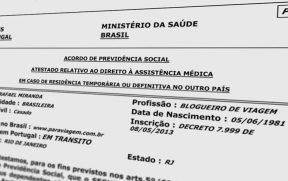PB-4 : Certificado de Direito à Assistência Médica