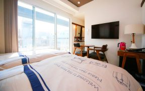 Quarto do Hotel Emit Shibuya