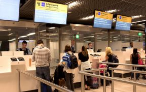 Controle de Passaporte na Europa