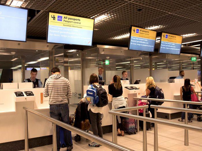 Entrada no Espaço Schengen