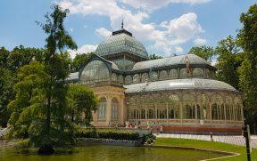 Palácio de Cristal no Parque del Retiro