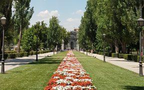 Parque del Retiro em Madrid