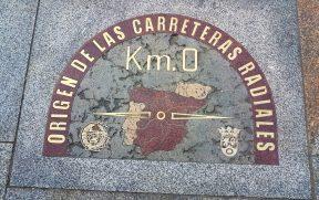 Marco Zero na Puerta del Sol