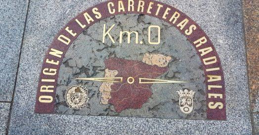 Pontos turísticos de Madrid: Marco Zero na Puerta del Sol