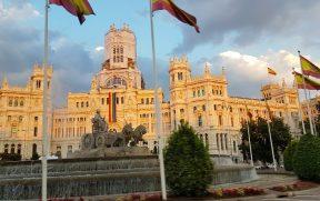 Plaza de Cibeles em Madrid
