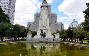 Plaza de España em Madrid