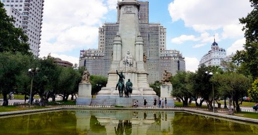 Pontos turísticos de Madrid: Plaza de España