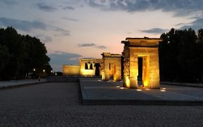Templo de Debod em Madrid