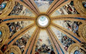 Cúpula da Basilica San Francisco el Grande