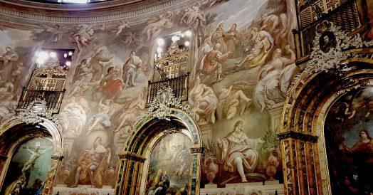 Ponto turístico em Madrid: Igreja de San Antonio de los Alemanes