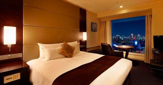 Quarto do Prince Hotel em Shinagawa