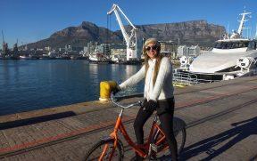 Jaque de bicicleta no V&A Waterfront