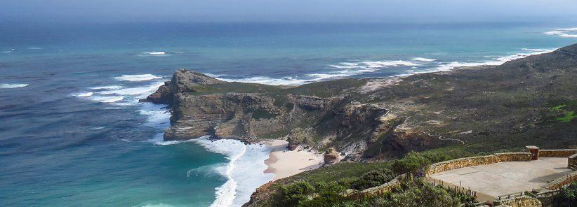 Cabo da Boa Esperança na África do Sul