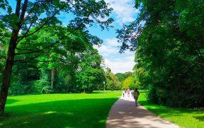 Caminho pelo Englischgarten