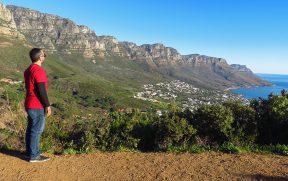 Vista de Camps Bay e dos 12 Apóstolos