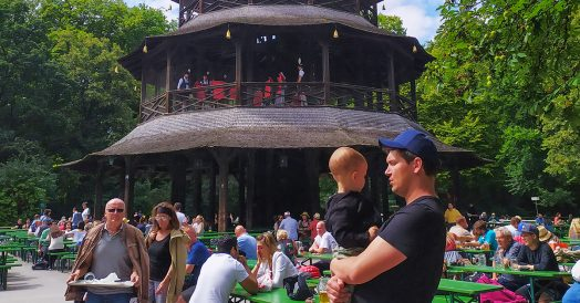 Roteiro Munique: Torre Chinesa no Englischgarten