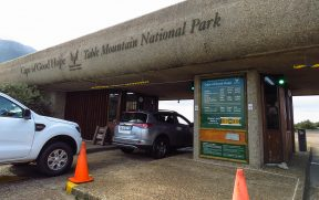 Entrada do Parque Nacional
