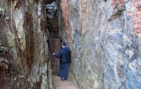 Estreita Entrada das Echo Caves