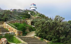 Escadas do Farol em Cape Point