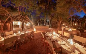 Jantar Especial ao Ar Livre no Kapama