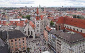 Marienplatz vista de cima