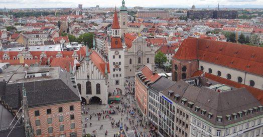 Roteiro Munique 2 dias: Marienplatz