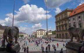 Vista da Odeonplatz