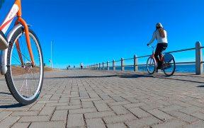 Passeando de Bicicleta em Cape Town