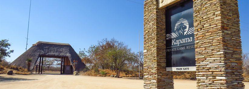 Portão de Entrada da Reserva Privada do Kapama