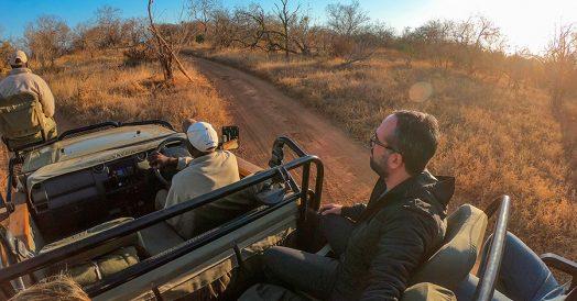Safari na Reserva do Kapama