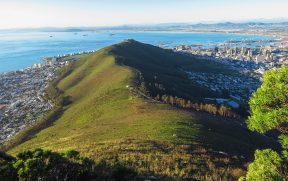 Signal Hill vista da Lion's Head