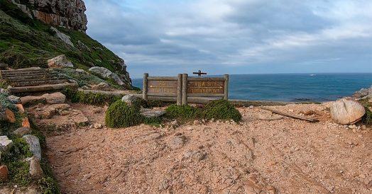 Trilhas no Cabo da Boa Esperança