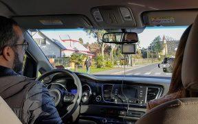 Dirigindo carro alugado no Chile