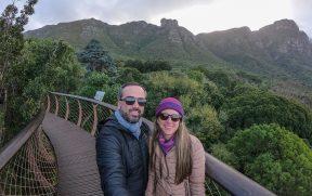 Casal o Jardim Botânico de Kirstenbosch
