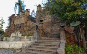 Castillo Hidalgo no Cerro Santa Lucia