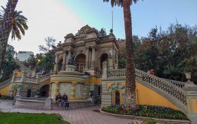 Entrada do Cerro Santa Lucia