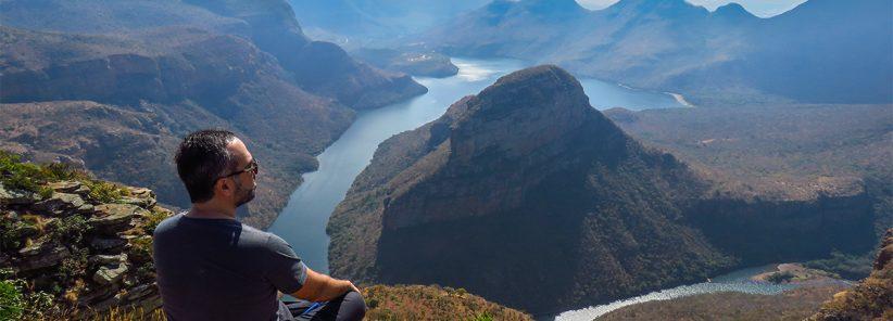 Curtindo a vista na África do Sul