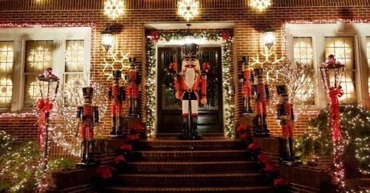 Decoração de Natal no Dycker Heights